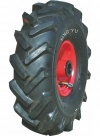 Колесо пневматическое с грунтозахватами, стальной прессованный цельный обод, симметричная ступица, шарикоподшипник полупрецизионный (PR1806-2 (S)  (3.00-4))