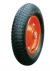 Колесо пневматическое, стальной прессованный обод, симметричная ступица, шарикоподшипник (PR2400-16 (S)     (3.25/3.00-8))