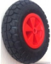 Колесо пневматическое, обод пластиковый, симметричная ступица, подшипник скольжения (PR2002 (PlasB) (4.10/3.50-6))
