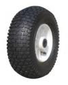 Колесо пневматическое, обод пластиковый, симметричная ступица, подшипник скольжения (PR2406 (Plas) (13x5.00-6))